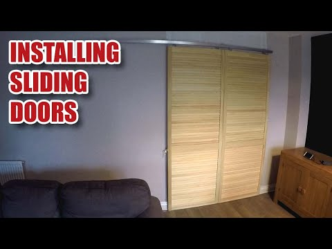 SLIDING DOOR INSTALL using Herkules Sliding Door Gear [116]