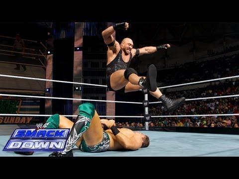 The Miz vs. Ryback: SmackDown, July 12, 2013