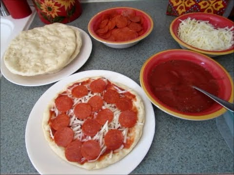How to Make Your Own Frozen Pizzas
