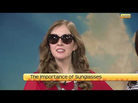 NDT The importance of sunglasses