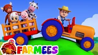 Old MacDonald had a farm | Nursery rhymes | 3D rhymes | Children song by Farmees