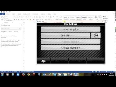 iGo Primo 8.5 Postcode search HOW TO ?
