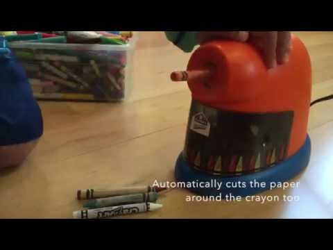 Crayola Crayon Sharpener Review and Unboxing