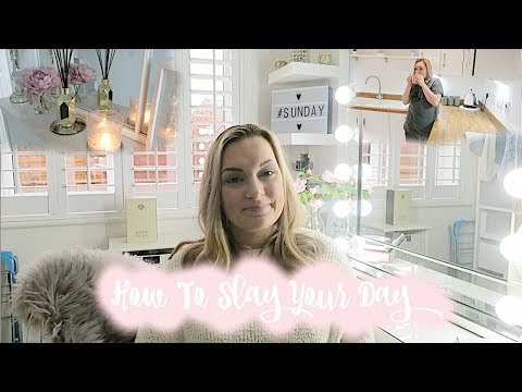 HOW TO SLAY YOUR DAY | HOW TO HAVE A PRODUCTIVE DAY | MY MORNING & EVENING ROUTINE | MRS SMITH & CO.
