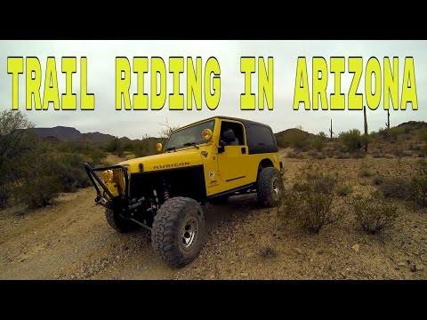 Trail Riding In Southern Arizona 🏍