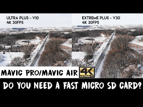 Mavic Pro and Mavic Air | Best Micro SD Card | How To Choose