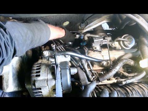 Replace back spark plugs/oxygen sensor - 2000 GM 3800 Series 2