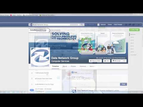 How to 'Like' Data Network Group on Facebook