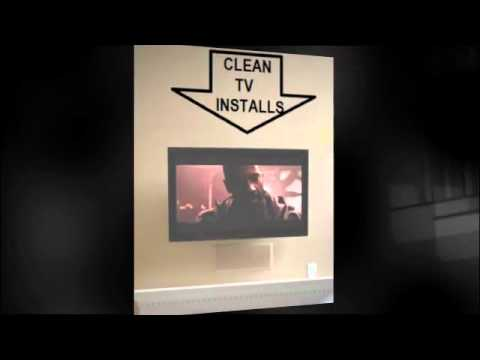 Flat Screen HD 3D TV Installs Done Right