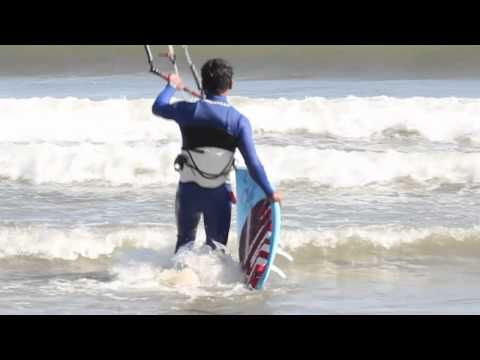 TKB Trick Tips: How to Get Up On a Surfboard - Kitesurfing