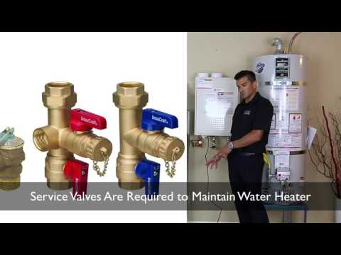 What are Service Valves for Tankless Water Heater