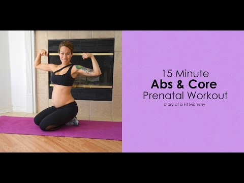 15 Minute Prenatal Abs & Core Workout