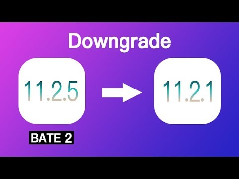 Downgrade iOS 11.2.5 Beta 2 to iOS 11.2.1 in Just 1 Click. Quick & Safe