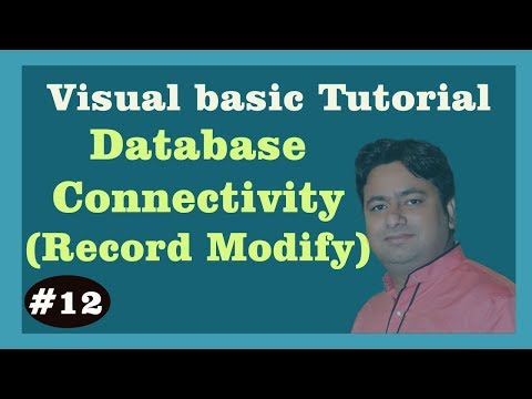 Modify Record - Visual Basic Connectivity with Access Database | Learn Visual Basic