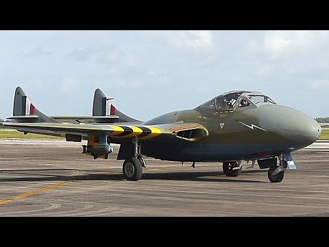 {TrueSound}™ de Havilland Vampire at Wings Over Homestead 2016