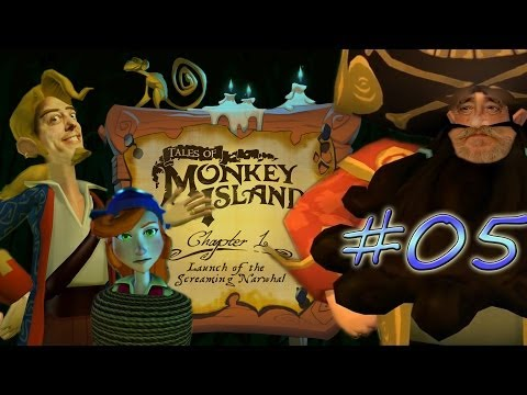 Tales Of Monkey Island #05 *Chapter 1 Dark Ninja Dave!* [HD / Facecam / PC]