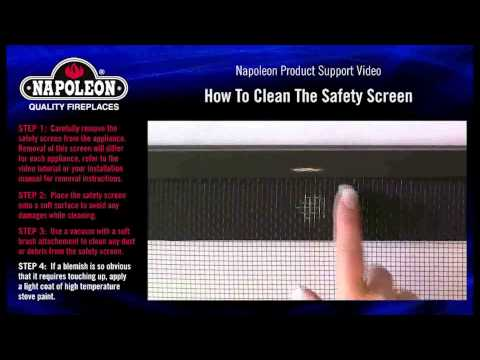 How To Clean The Safety Screen Service Tutorial