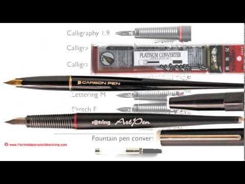 art pen rotring