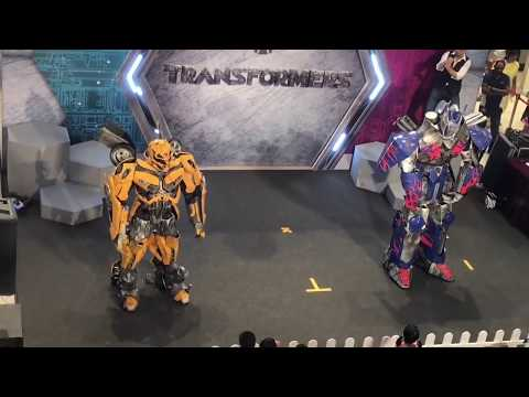 First ever Transformers Live show on stage in City Square Mall Singapore