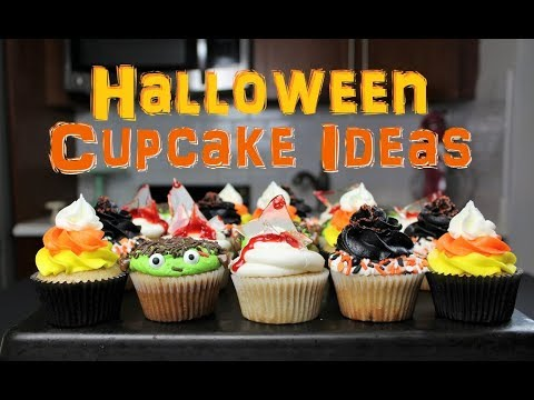 Halloween Cupcake Ideas | CHELSWEETS