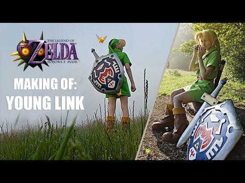 Making Of Young Link Cosplay Majora's Mask