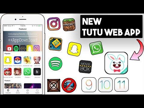 New TuTu Web App Install ++ Apps / Paid Apps/Games (NO JAILBREAK/COMP) iOS 11/10/9 iPhone/iPod/iPad