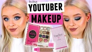 TESTING YOUTUBERS MAKEUP PRODUCTS! - Tanya Burr, Nikkietutorials + LOADS MORE! | sophdoesnails