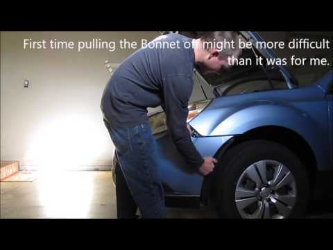 2010 Subaru headlight bulb replacement *UPDATED*