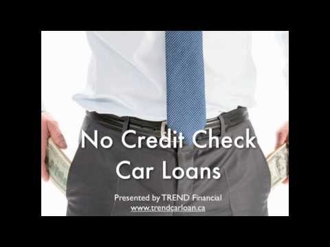 No Credit Check Car Loans - How they work