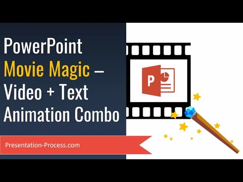 PowerPoint Movie Magic: Videos, Text and Animations Combo (Advanced)