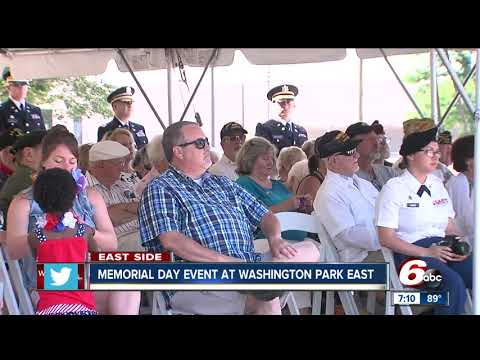 Memorial Day at Washington Park East Cemetery
