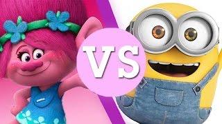 Trolls VS Minions - Who