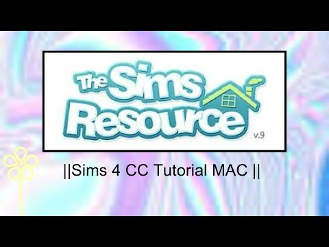 ||How to download CC from the Sims Resource|| MAC
