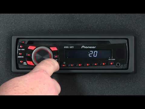 FAQ- DEH-1300MP- Set the Clock