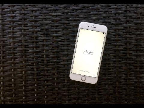 iPhone 6 Setup Guide