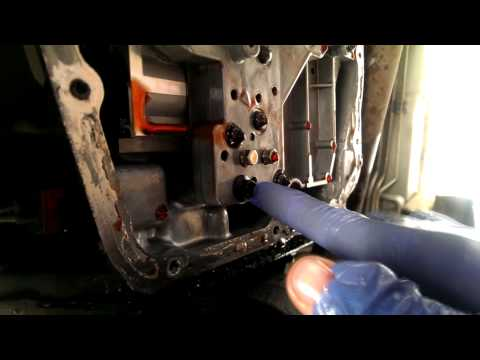 99-04 Jeep Grand Cherokee: how to replace Transmission Solenoid Pack on a 45RFE transmission