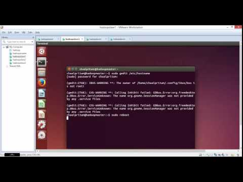 Hadoop 2.6.0 Multi Node Cluster Setup on Ubuntu 14.10