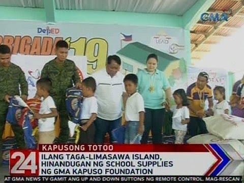 Xxx Mp4 24 Oras Ilang Taga Limasawa Island Hinandugan Ng School Supplies Ng GMA Kapuso Foundation 3gp Sex