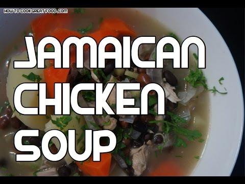 Jamaican Chicken Soup Recipe