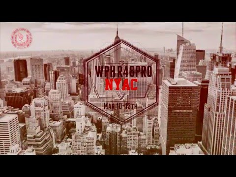 WPH Race4Eight New York:  March 10th-13th, 2016 - NYAC on ESPN