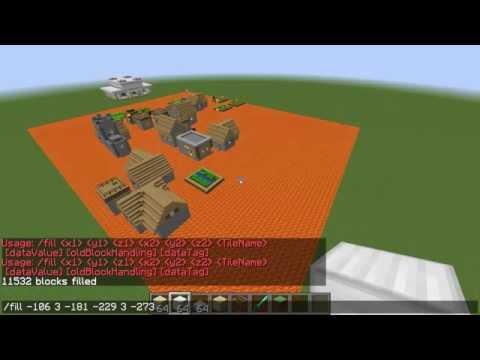 Hoe Gebruik je Minecraft 1.8 Worldedit (het /fill command)