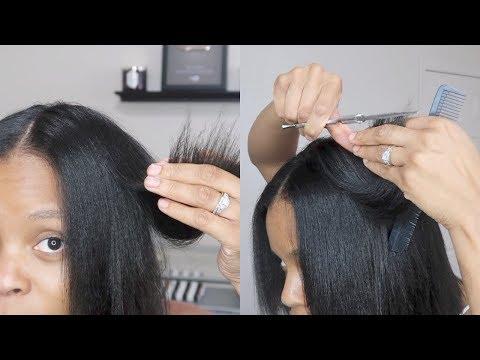 Watch Me TRIM My Hair | Layered Trim | Step by Step