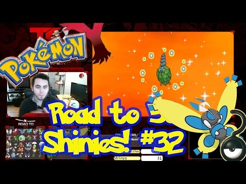 Road to 50 Shinies | Shiny #32 | SHINY BURMY (#3)! | Masuda Method | Pokemon XY