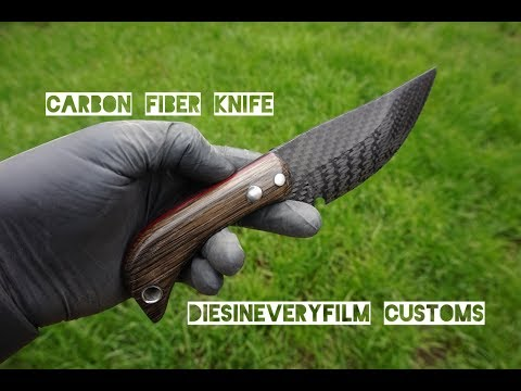 Knife Making from Carbon Fiber