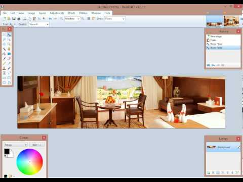 How to resize and change image ratio in Paint.Net