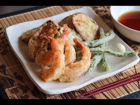 Tempura Recipe - Japanese Cooking 101