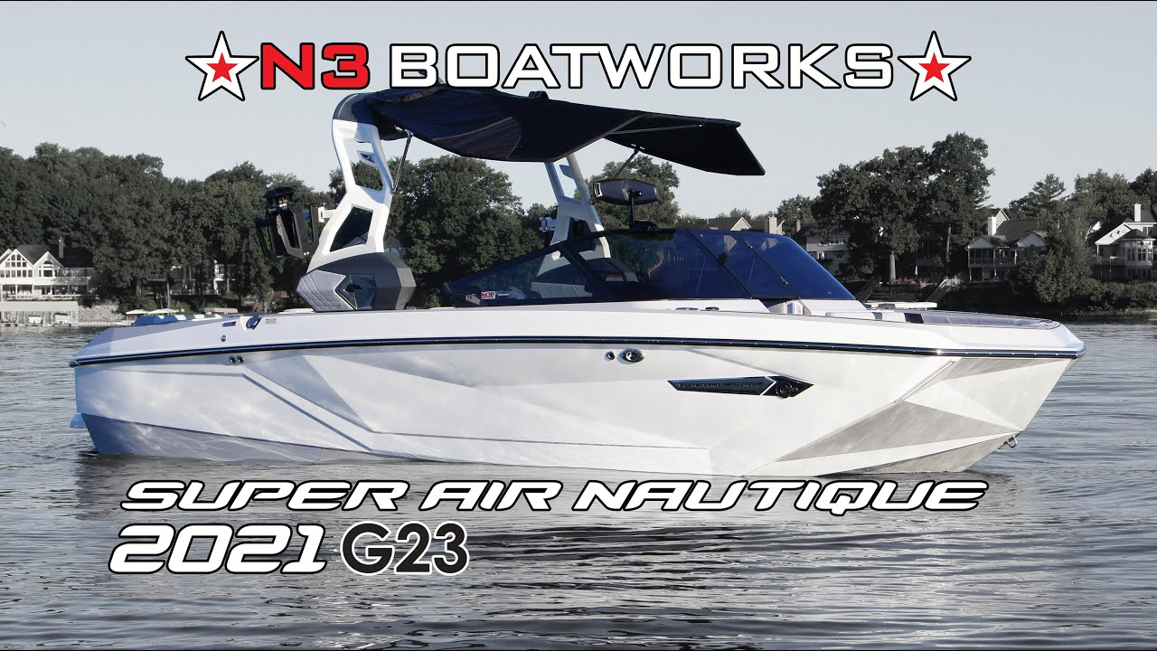 The 2021 Nautique G23: What's New    In Depth With N3 Boatworks
