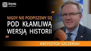 Krzysztof Szczerski o uroczystościach w Yad Vashem: rosyjska narracja od A do Z