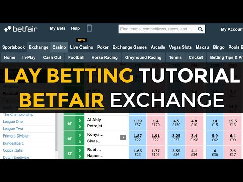 How To Place a Lay Bet on BetFair Exchange (Great for Matched Betting)