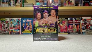 2018 Topps WWE Road to WrestleMania (SPOILER! sweet shirt Relic)